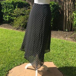 Vintage Dana Buckman Silk Skirt      A135